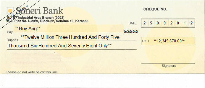 New cheque norms: Know how to write the cheques correctly